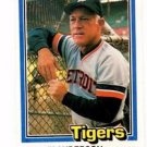 Sparky Anderson Trading Card Single 1981 Donruss #370 Tigers