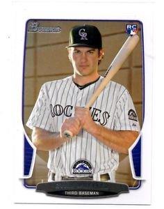 Ryan Wheeler RC Trading Card Single 2013 Bowman #43 Rockies