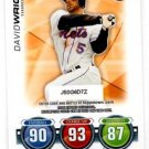 David Wright Trading Card Single 2010 Topps Attax #NNO Mets