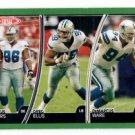 DeMarcus Ware Greg Ellis Macus Spears Trading Card 2007 Topps Total #203 Cowboys