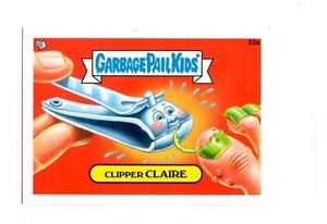 Clipper Claire Single 2013 Topps Garbage Pail Kids Mini #53a