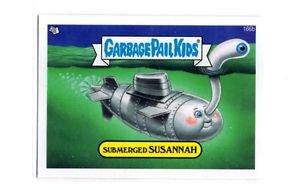 Submerged Susannah Single 2013 Topps Garbage Pail Kids Mini #166b