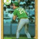 Mark McGwire Trading Card Single 1987 Topps #366 Atheltics