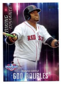 David Ortiz Striking Distance Insert 2016 Topps Opening Day #SD6 Red Sox