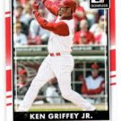 Ken Griffey Jr Trading Card Single 2016 Donruss 179A Reds