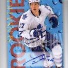 Carter Ashton Rookie Sensations Auto 2012-13 UD Fleer Retro #2 Leafs