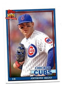 Anthony Rizzo Trading Card Single 2016 Topps Archives #248 Cubs