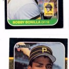 Bobby Bonilla RC Trading Card Lot of (2) 1987 Donruss #558 PIrates