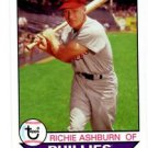 Richie Ashburn Trading Card Single 2016 Topps Archives #178 Phillies