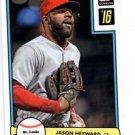 Jason Heyward 82 Donruss Throwback Insert 2016 Donruss #D82-35 Braves
