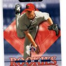 John Lackey Trading Card Single 2002 Donrusss The Rookies #4 Angels