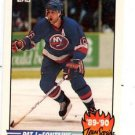Pat Lafontaine Trading Card Single 1990-91 Topps Insert #10 Islanders