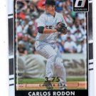 Carlos Rodon Career Stat Line  2016 Donruss #163 076/375 White Sox