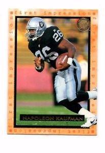 Napoleon Kaufman Trading Card 1996 Fleer Ultra 184 Raiders