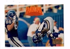 Mark Seay Trading Card 1996 Skybox Premium Panorama #242 Chargers