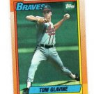 Tom Glavine Trading Card Single 1990 Topps #506 Braves