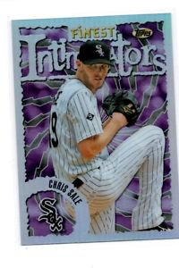 Chris Sale Intimidators Refractors 2016 Topps Finest #98FI-CS Mariners