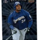 Prince Fielder Uncommon Starquest Trading Card Single 2009 Upper Deck #SQ22