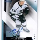 Tyler Toffoli Auto 2015-16 UD SP Game Used #20 Kings
