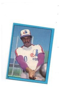 Andre Dawson Trading Card 1982 Topps Sticker #57 Expos