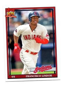 Francisco Lindor Trading Card 2016 Topps Archives #281 Indians
