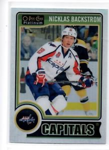 Nicklas Backstrom White Ice Parallel SP 2014-15 OPC Platinum #35 Capitals /199