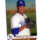 Yordano Ventura Trading Card Single 2016 Topps Archives 133 Royals