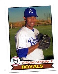 Yordano Ventura Trading Card Single 2016 Topps Archives 133 Royals