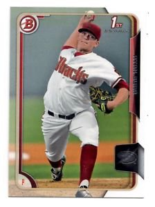 Ryan Burr Trading Card Single 2015 Bowman Draft #60 Diamondbacks