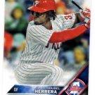 Odubel Herrera Future Stars Trading Card Single 2016 Topps #68 Phillies
