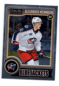 Alexander Wennberg RC Trading Card Single 2014-15 OPC Platinum #188 Blue Jackets