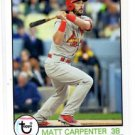 Matt Carpenter Trading Card 2016 Topps Archives 168 Cardinals