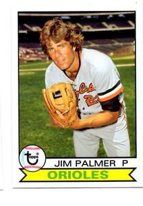 Jim Palmer Trading Card Single 2016 Topps Archives #131 Orioles