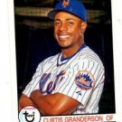 Curtis Granderson Trading Card Single 2016 Topps Archives #138 Tigers