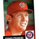 Stephen Strasburg Trading Card Single 2016 Topps Archives #60 Nationals