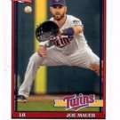 Joe Mauer Trading Card Single 2016 Topps Archives #261 Twins