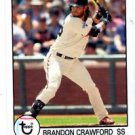 Brandon Crawford Trading Card Single 2016 Topps Archives #188 Giants