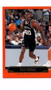 David Robinson Trading Card Single 1999-00 Topps #73 Spurs NMT