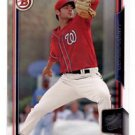Lucas Giolito Trading Card Single 2015 Bowman Draft #39 Nationals
