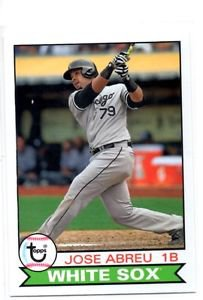 Jose Abreu Trading Card Single 2016 Topps Archives 157 White Sox