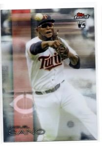 Miguel Sano RC Trading Card Single 2016 Topps Finest #69 Twins