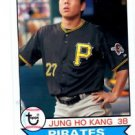 Jung Ho Kang Trading Card Single 2016 Topps Archives #140 Pirates