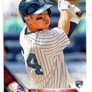 Rob Refsnyder RC Trading Card 2016 Topps #178 Yankees