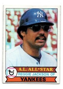 Reggie Jackson Trading Card 1979 Topps 700 Yankees NMT+
