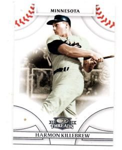 Harmon Killebrew Trading Card 2008 Donruss Threads #30 Twins
