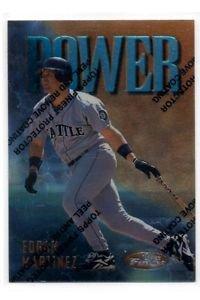 Edgar Martinez Power Trading Card 1997 Topps Finest #P6 99 Mariners