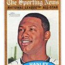 Hanley Ramirez Trading Card Single 2011 Topps Heritage #393 AS