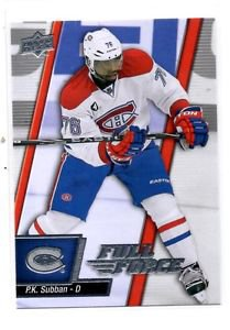 P.K. Subban Trading Card Single 2015-16 UD Full Force #34 Canadians