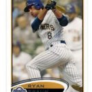 Ryan Braun Trading Card Single 2011 Topps #1 Brewers
