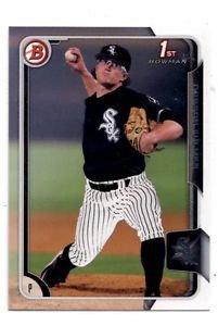 Carson Fulmer Trading Card Single 2015 Bowman Draft 118 White Sox